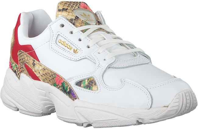 Witte ADIDAS Lage sneakers FALCON W  - large