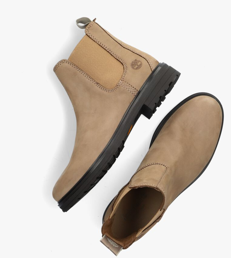 Taupe TIMBERLAND Chelsea boots HANNOVER HILL  - larger