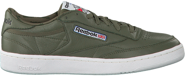 Groene REEBOK Sneakers CLUB C 85 MEN  - large