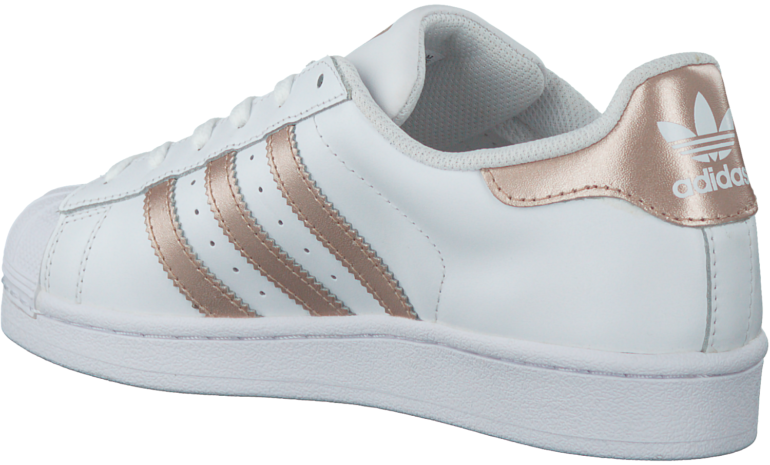 cheap for discount 88e07 4bc65 Witte ADIDAS Sneakers SUPERSTAR DAMES. ADIDAS. -50%. Previous