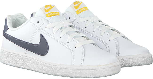 Witte NIKE Sneakers COURT ROYALE MEN  - large