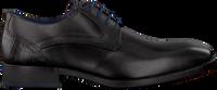 Zwarte BRAEND Nette schoenen 16318  - medium