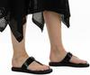 Zwarte MICHAEL KORS Slippers LILLIE THONG  - small