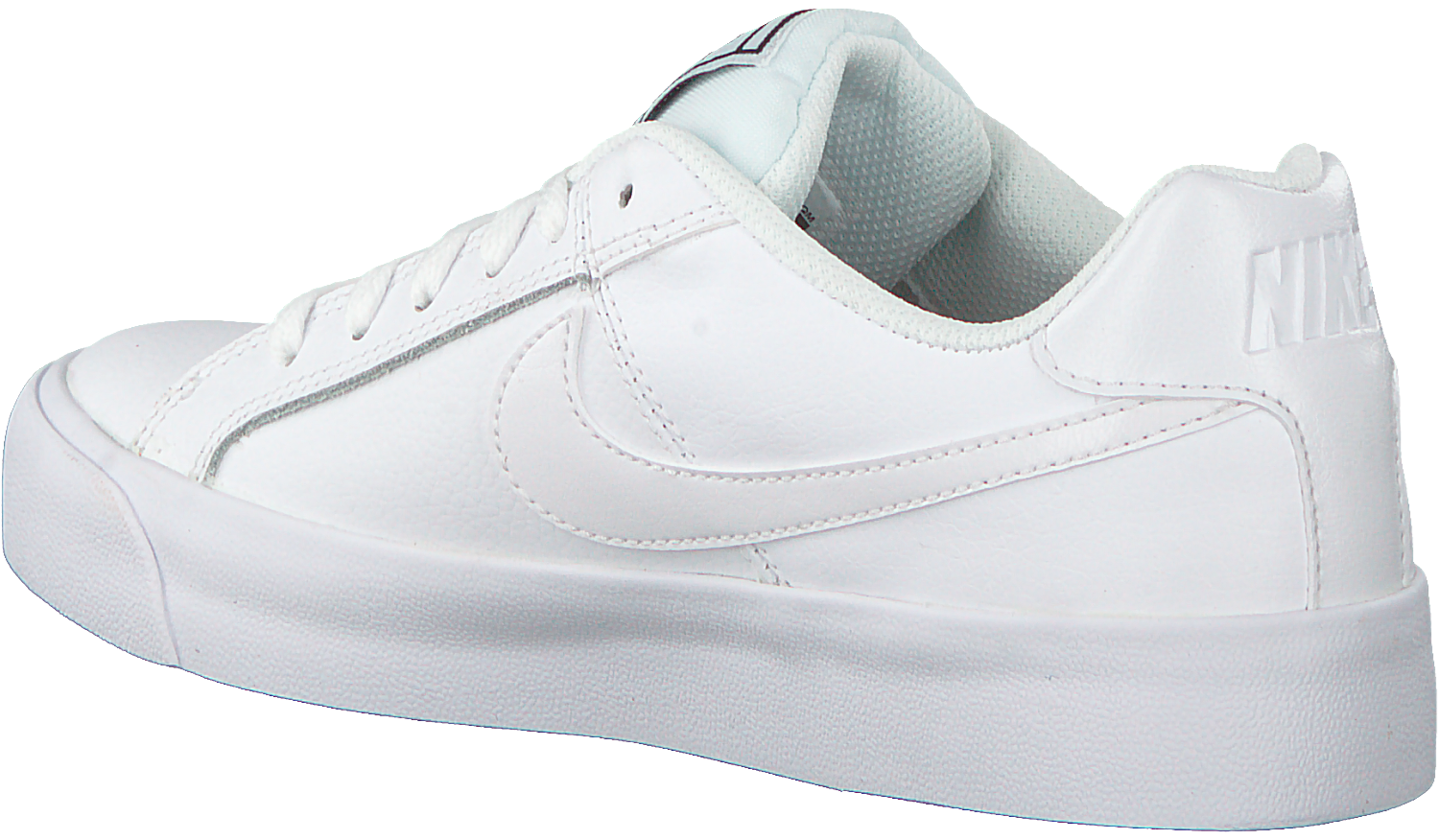 Witte NIKE Sneakers COURT ROYALE AC WMNS   Omoda