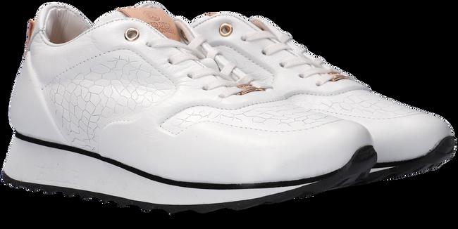 Witte FRED DE LA BRETONIERE Lage sneakers 101010201  - large