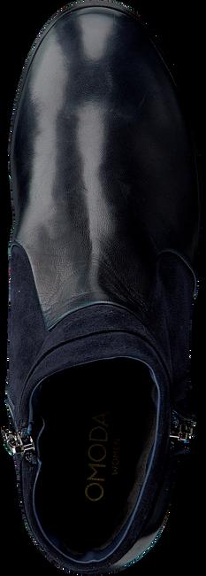 Blauwe OMODA Enkellaarsjes CORINNE-08 - large