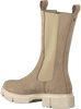 Beige OMODA Chelsea boots ROMY - small
