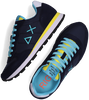 Blauwe SUN68 Lage sneakers TOM SOLID NYLON MEN  - small