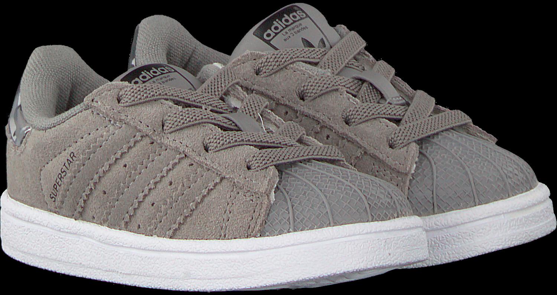 359fb1211d9 Grijze ADIDAS Sneakers SUPERSTAR I - large. Next