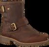 Bruine PANAMA JACK Biker boots FELINA B5 - small
