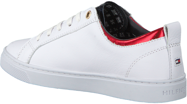 Witte TOMMY HILFIGER Sneakers CITY SNEAKER METALLIC - large