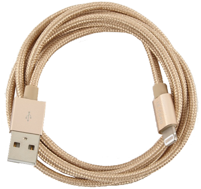Gouden LE CORD Oplaadkabel SYNC CABLE 1.2 - large