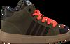 Groene PINOCCHIO Hoge sneaker P1882  - small