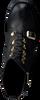 Zwarte ROBERTO D'ANGELO Veterboots BARBI s3blk889