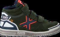 Groene MUNICH Hoge sneaker G3 BOOT VELCRO  - medium