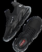 Zwarte RED-RAG Lage sneakers 13527  - medium