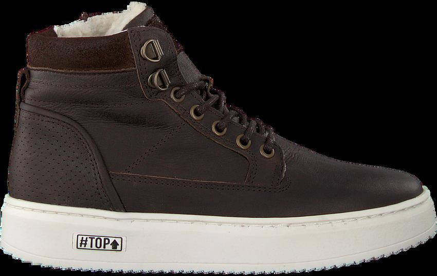 Bruine OMODA Hoge sneaker O2586  - larger
