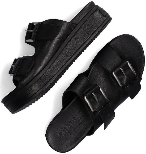 Zwarte SHABBIES Slippers 170020174  - large