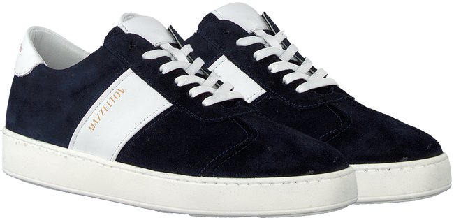 Blauwe MAZZELTOV. Sneakers 3463  - large