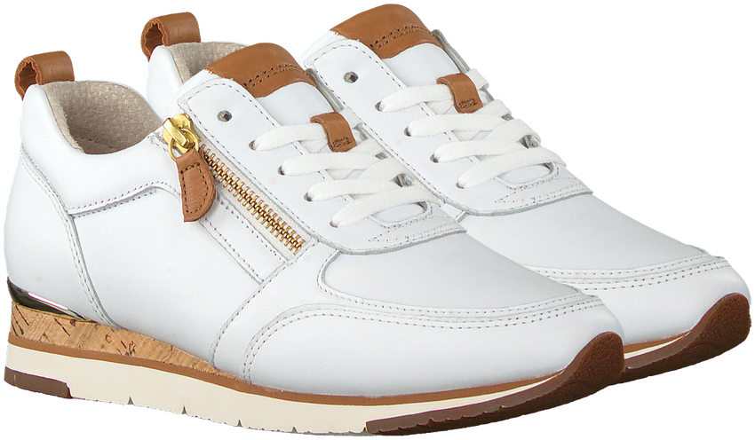Witte GABOR Lage sneakers 431  - larger