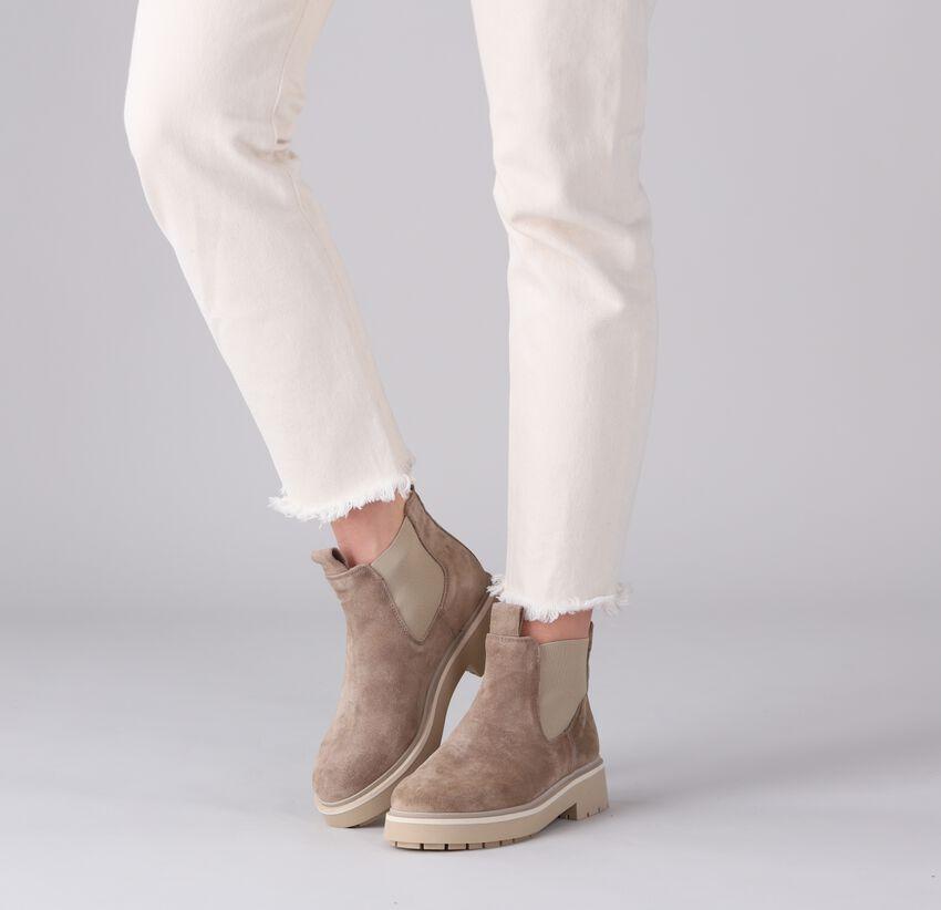 Beige VIA VAI Chelsea boots ALEXIS ZEN - larger