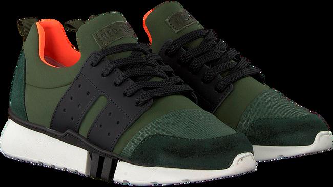 Groene RED-RAG Sneakers 13307 - large