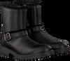 Zwarte CLIC! Enkellaarsjes 9547 - small