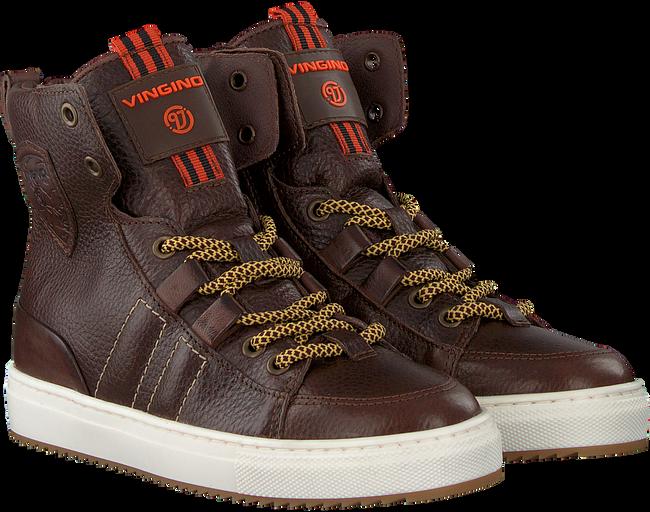 Bruine VINGINO Sneakers STYN HIGH  - large