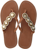 Bruine OMODA KUBUNI Slippers SLIPPER CIRCLE - small
