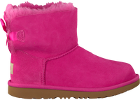Roze UGG Enkelboots MINI BAILEY BOW II KIDS - medium
