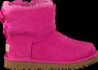 Roze UGG Enkelboots MINI BAILEY BOW II KIDS - medium