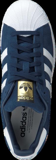 Blauwe ADIDAS Sneakers SUPERSTAR HEREN  - large