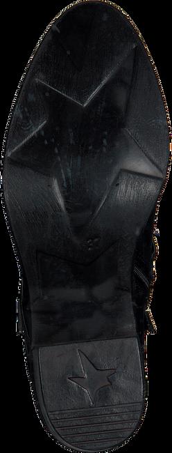 Zwarte MJUS Enkellaarsjes 226208  - large