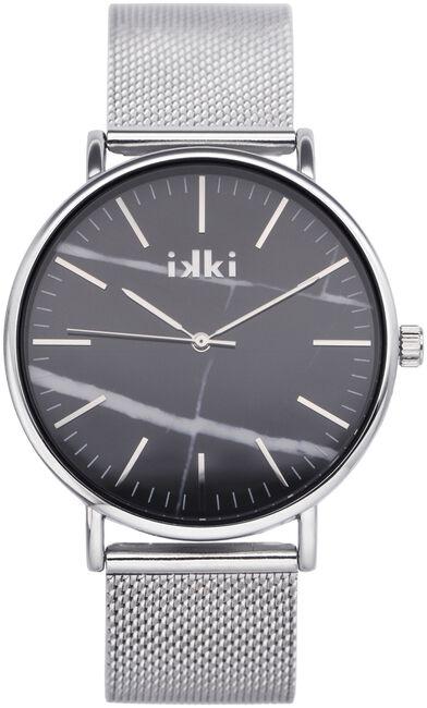 Zilveren IKKI Horloge AMELLE - large