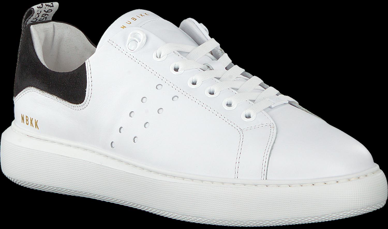 d0b2e4284f1 Witte NUBIKK Sneakers SCOTT CALF - Omoda