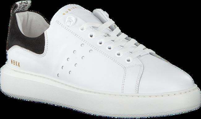 Witte NUBIKK Sneakers SCOTT CALF - large