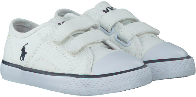 Witte POLO RALPH LAUREN Sneakers DYLAND EZ LAYETTE  - large