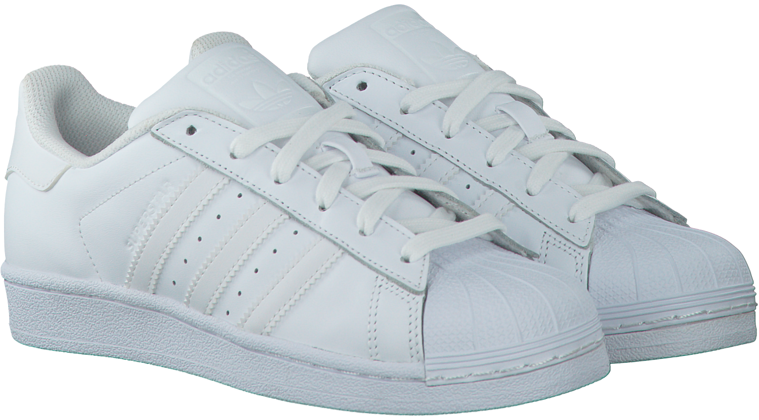 4a97917a89a Witte ADIDAS Sneakers SUPERSTAR FOUNDATION - Omoda.nl