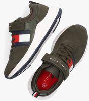 Groene TOMMY HILFIGER Lage sneakers 32080  - medium