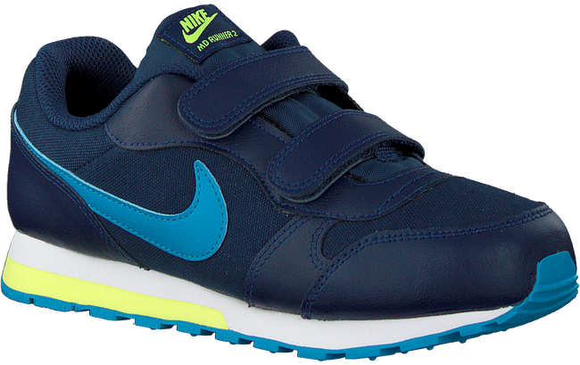 Blauwe NIKE Lage sneakers MD RUNNER 2 (PSV)  - large