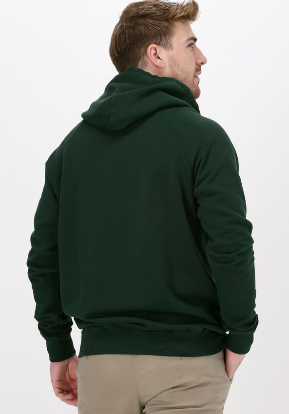 Donkergroene FORÉT Sweater RAY HOODIE - larger