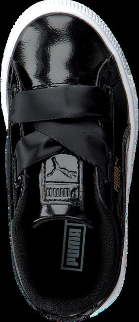 Zwarte PUMA Sneakers BASKET HEART GLAM  - large