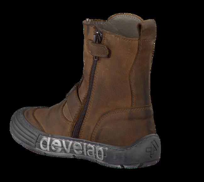 Bruine DEVELAB Lange laarzen 5266  - large