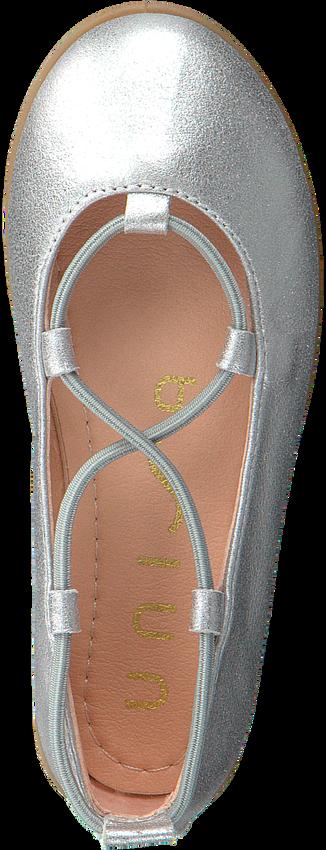 Zilveren UNISA Ballerina's SEIMY  - larger