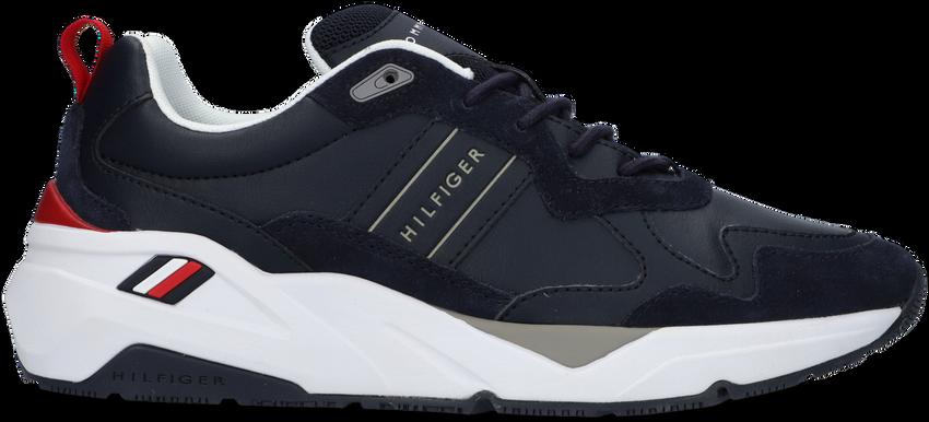 Blauwe TOMMY HILFIGER Lage sneakers PREMIUM RUNNER DETAIL  - larger