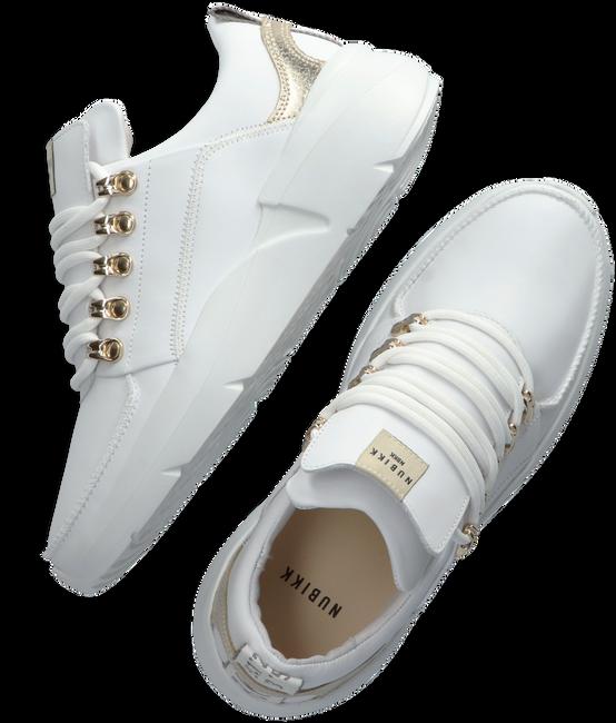 Witte NUBIKK Lage sneakers ROQUE ROYAL  - large