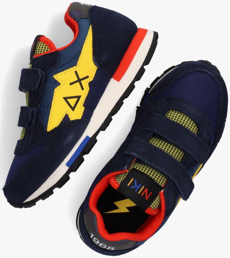 Blauwe SUN68 Lage sneakers BOYS NIKI CRAZY BOY  - larger