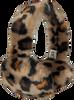 Bruine UGG  Oorwarmer FAUX FUR EARMUFF  - small