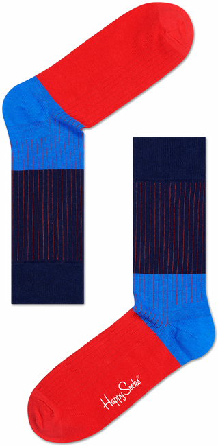 Blauwe HAPPY SOCKS Sokken RB01 - large