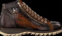 Cognac HARRIS Hoge sneaker 0720 - medium